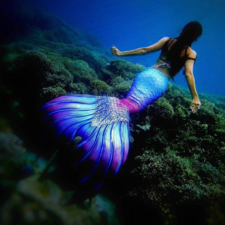 Sherlyn Doloriel underwater statues