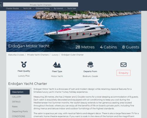 Freelance copywriter for yachts
